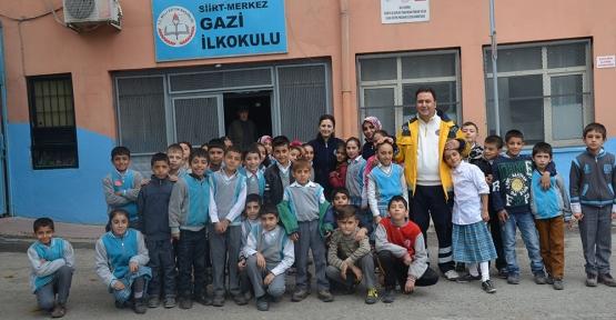 112 Medya Kampanyası Okullarda Devam Ediyor