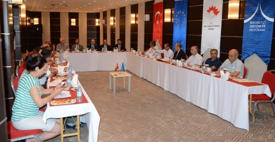Vali Tutulmaz Başkanlığında, Fıstık İşleme Projesi Toplantısı Yapıldı