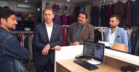 AK Parti Siirt Teşkilatı Referandum Ziyaretlerine Devam Ediyor