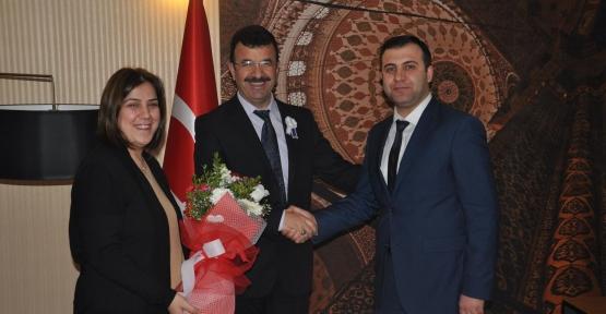 Defterdarlıktan Siirt TSO'ya Vergi Haftası Ziyareti