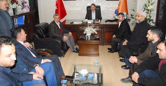 HÜDA-PAR'dan AK Parti'ye İade-i Ziyaret