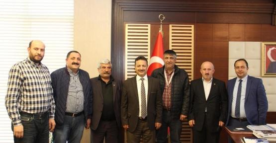 Siirt Gazeteciler Derneğinden Rektör Erman'a Ziyaret