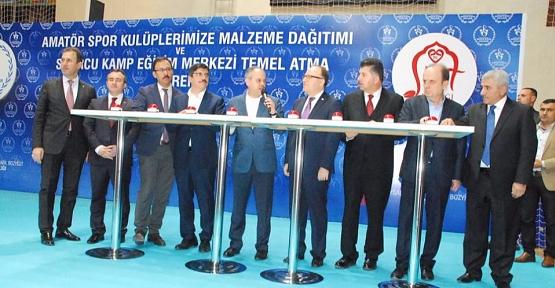 """Bakan Kılıç 7 Milyon TL'lik """"Kamp Eğitim Merkezi""""nin Temelini Attı"""