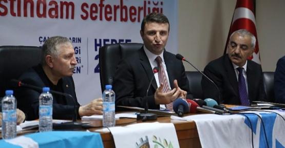 Bakan Yardımcısı Yegin, STSO'da Yatırımcılarla Bir Araya Geldi