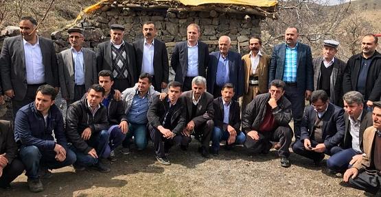 Başkan Özcan, Köy Gezilerine Devam Ediyor