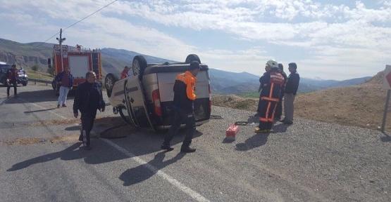 Eruh Yolunda Trafik Kazası 5 Yaralı