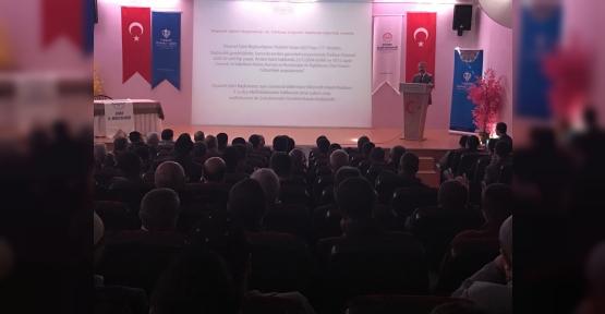 Siirt'te Din Görevlilerine Yönelik Türkiye Diyanet Vakfı Tanıtım Toplantısı Yapıldı