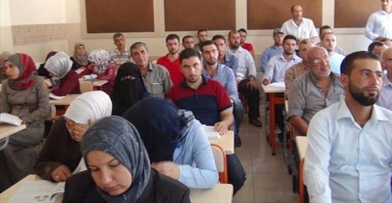 Suriyeli 20 Öğretmen Adayı Formasyon Aldı