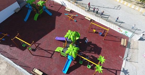 Beğendik Beldesinde Yeni Çocuk Oyun Parkı Hizmete Girdi