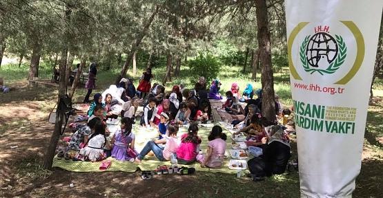 Savaş Mağduru Öğrenciler Piknikte Buluştu