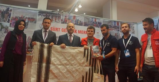 Siirt Gençlik Merkezi Standı Ankara'da Yoğun İlgi Gördü