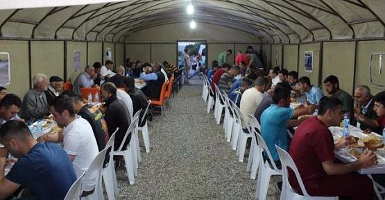 Şirvan Belediyesinden İftar Çadırı