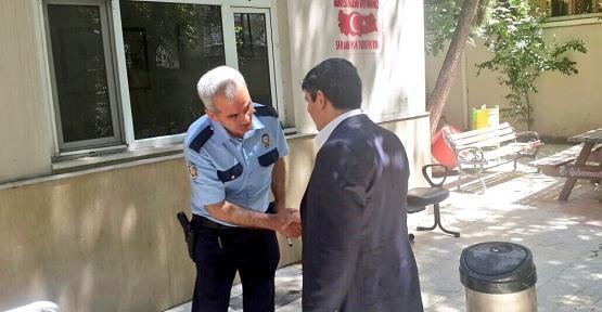 AK Parti Milletvekilli Aktay, Polis Karakolunu Ziyaret Etti