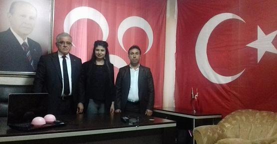 MHP Merkez İlçe Başkanlığına Nezir Marakçı Yeniden Seçildi