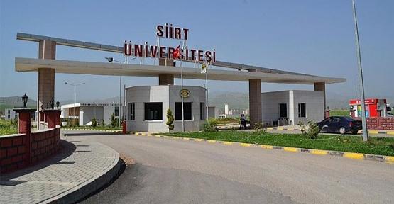 Siirt Üniversitesinde Rektör Yardımcıları Değişti