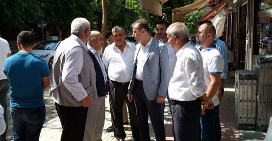 AK Parti İl Başkanı Çalapkulu, Esnaf Ziyaretlerinde Bulundu