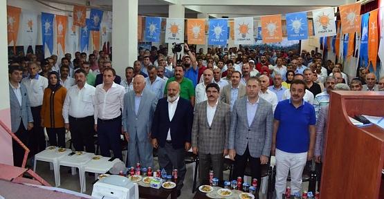 AK Parti İlk Kongresini Kayabağlar Beldesinde Gerçekleştirdi