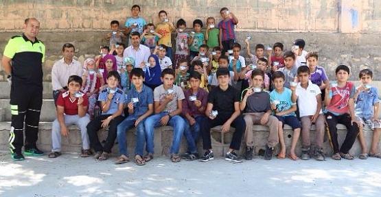 Eruh'ta Öğrencilere Uygulamalı Trafik Eğitimi Verildi