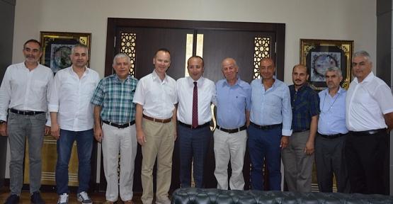 İstanbul Halı İhracatçıları Birliği, Vali Atik'i Ziyaret Etti
