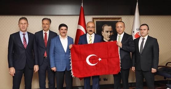 Siirt Heyeti Ankara'daki Temaslarına Devam Ediyor