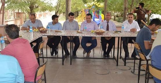 Baykan Kaymakamı Çotu,Okul Müdürleriyle Bir Araya Geldi
