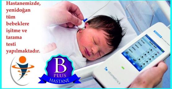 Özel Asema Hospital'dan Yeni Doğan Bebeklere İşitme ve Tarama Testi
