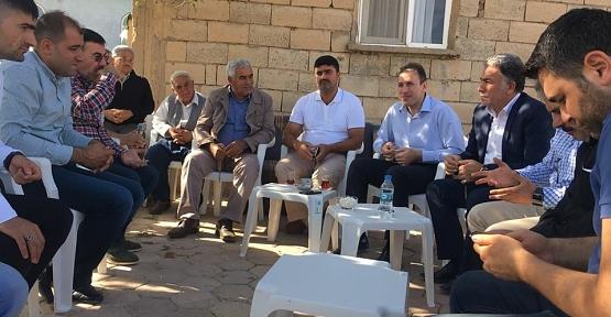 AK Parti İl Başkanı Çalapkulu'dan Köy Ziyaretleri
