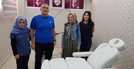 Özel Siirt Hayat Hastanesi Güzellik Merkezi Uzman Doktor İlker ERDEN Yönetiminde Hizmet Vermeye Başladı