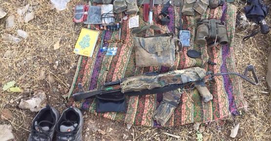 Şeyh Ömer Dağında Bir Terörist Etkisiz Hale Getirildi