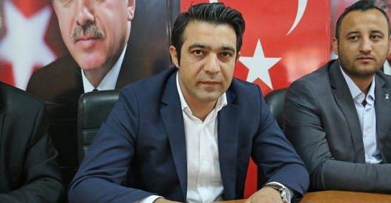 AK Parti Merkez İlçe Başkanlığına Av. Ekrem Olgaç Getirildi