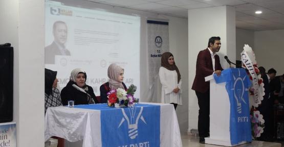 AK Parti Baykan Kadın Kollarının 5.Olağan Kongresi Yapıldı
