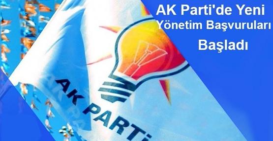 AK Parti'de Yeni Yönetim Başvuruları Başladı