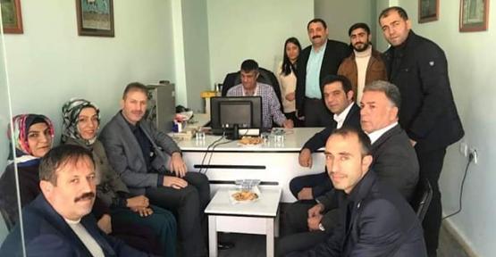 AK Parti Teşkilatından Gazetecilere Ziyaret