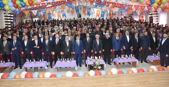 AK Parti Eruh 6. Olağan Kongresi Yapıldı