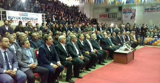 AK Parti Merkez İlçe 6.Olağan Kongresi Yapıldı