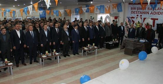 AK Parti Tillo 6.Olağan İlçe KongresiYapıldı