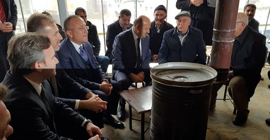 Başbakan Yardımcısı Fikri Işık, Esnaf Ziyaretlerinde Bulundu