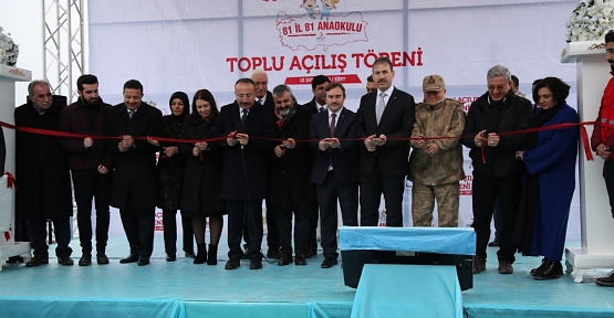 Hacı Tahir Şimşek Anaokulu Törenle Açıldı