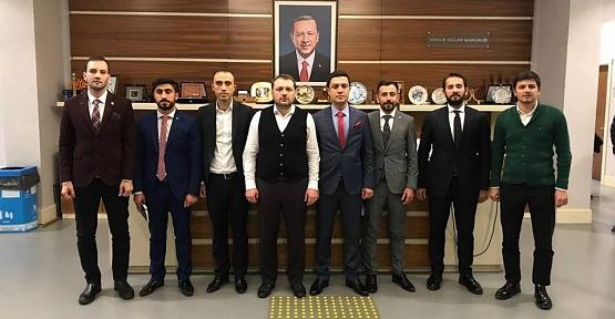 AK Parti Gençlik Kolları Başkanlığına İbrahim Hamit Bedük Atandı