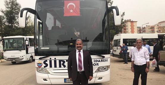 Siirt İl Özel İdare Spora Otobüs Alındı