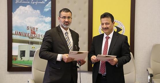 Siirt Üniversitesi İle Libya Asmarya Üniversitesi Arasında İşbirliği Protokolü İmzalandı