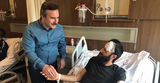 Belediye,Hastanelerde Yatan Hastaları Kandil Gecesinde Unutmadı