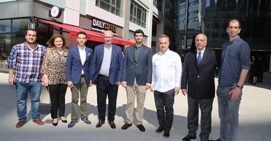 "Siirtli Hemşerimiz Cem Koyuncu'dan Mahall Ankara'da ""Daily Coffee"""