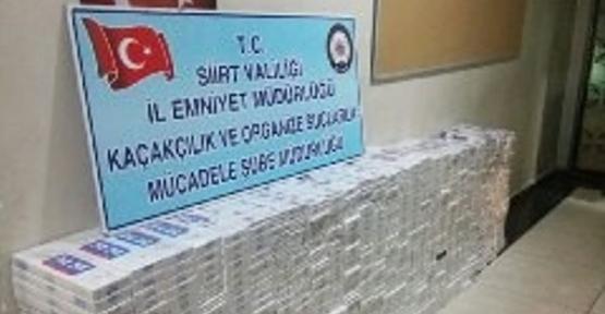 8.500 Paket Kaçak Sigara Ele Geçirildi
