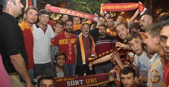 Galatasaray'ın Şampiyonluğu Siirt'te Coşkuyla Kutlandı