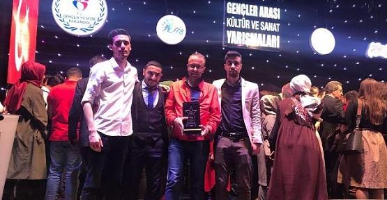 Sosyal Bilimler MYO Öğrencileri Bilgi Yarışmasında Türkiye 2.si Oldu