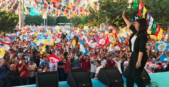 HDP'den Siirt'te Miting