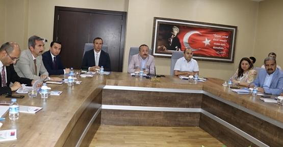 Köydes İl Tahsisat Komisyonu, Vali Atik, Başkanlığında Toplandı