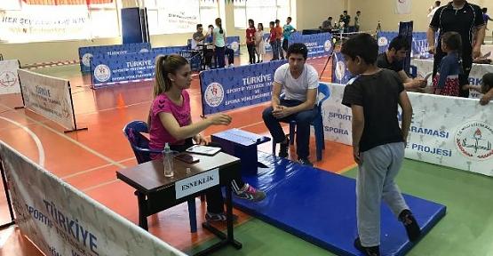 Türkiye Sportif Yetenek Taraması ve Spora Yönlendirme Projesi
