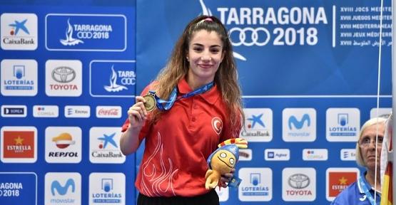 Evin Demirhan, Akdeniz Oyunlarından Altın Madalyayla Döndü